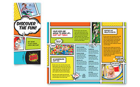 Kids Club - InDesign Brochure Template