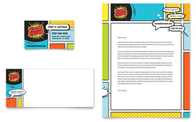 Kids Club - Business Card & Letterhead