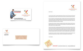 Handyman Services - Letterhead Sample Template