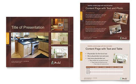 Home Remodeling - PowerPoint Presentation Template Design Sample