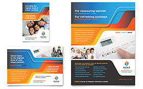 HVAC - Flyer & Ad Template