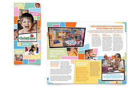Preschool Kids & Day Care - Brochure