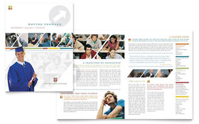 College & University - Adobe InDesign Brochure Template