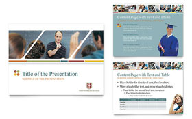 College & University - PowerPoint Presentation Sample Template