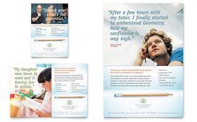 Academic Tutor & School - Flyer & Ad Template