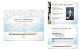Academic Tutor & School - PowerPoint Presentation Template