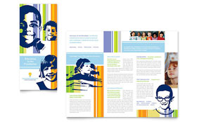 Learning Center & Elementary School - Microsoft Word Brochure