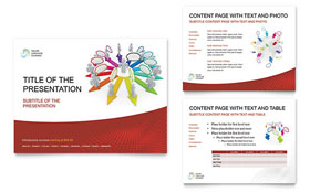 Language Learning - PowerPoint Presentation Template Design Sample