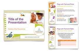 Kindergarten - PowerPoint Presentation Sample Template
