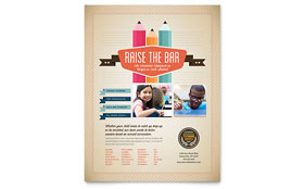 Tutoring School - Leaflet Template