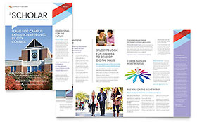 Community College - Newsletter Template
