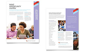Community College - Datasheet Template