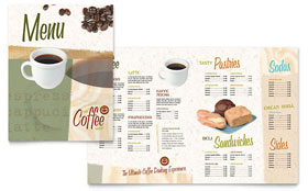 Coffee Shop - Menu Template Design Sample