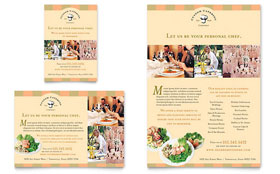 Catering Company - Leaflet Sample Template