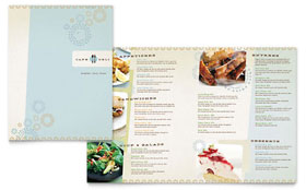 Cafe Deli - Menu Sample Template