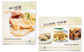 Cafe Deli - Poster Template