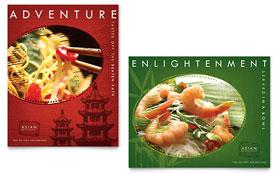 Asian Restaurant - Poster Sample Template