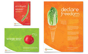 Nutritionist & Dietitian - Flyer & Ad Template