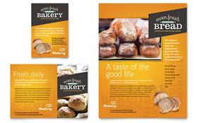 Artisan Bakery - Leaflet Sample Template