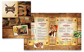 Steakhouse BBQ Restaurant - Menu