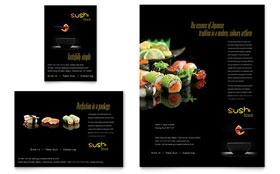 Sushi Restaurant - Leaflet Template