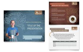 Coffee Shop - PowerPoint Presentation Template