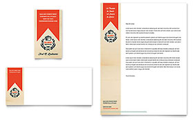 Culinary School - Business Card & Letterhead Template