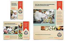 Culinary School - Flyer Template
