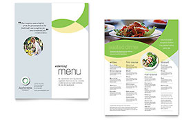 Food Catering - CorelDRAW Menu Template