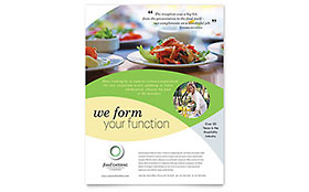 Food Catering - Leaflet Template