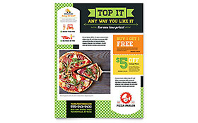 Pizza Parlor - Flyer Template