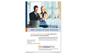 Financial Planning & Consulting - Leaflet