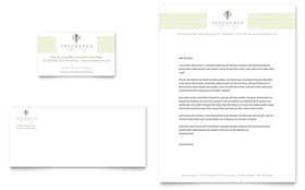 Life & Auto Insurance Company - Business Card Template