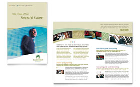 Investment Management - Business Marketing Brochure Template