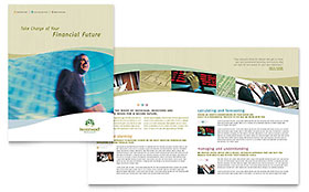 Investment Management - Microsoft Publisher Brochure Template