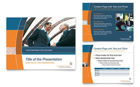 Investment Services - PowerPoint Presentation Sample Template