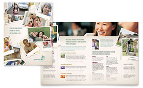Life Insurance Company - Brochure Template