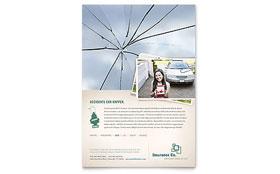 Life Insurance Company - Flyer Template