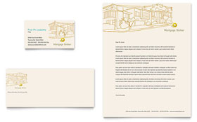 Mortgage Broker - Business Card & Letterhead
