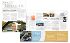 Car Insurance Company - Newsletter