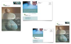 Wealth Management Services - Postcard Sample Template