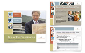 Investment Advisor - PowerPoint Presentation Template