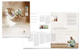 Retirement Investment Services - Microsoft Word Brochure Template