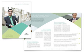 Financial Advisor - CorelDRAW Brochure Template