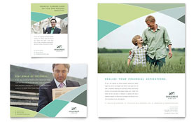 Financial Advisor - Flyer & Ad Template