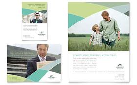 Financial Advisor - Flyer & Ad Template