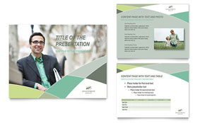 Financial Advisor - PowerPoint Presentation Sample Template