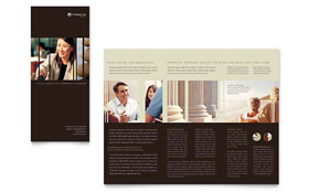 Financial Planner - Apple iWork Pages Brochure Template