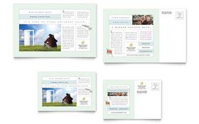 Mortgage Lenders - Postcard Template