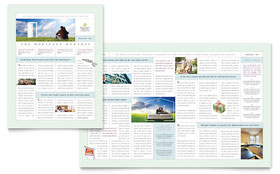 Mortgage Lenders - Newsletter Template